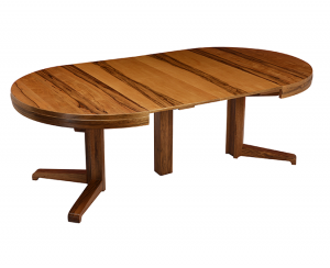 round oak dining table and chair