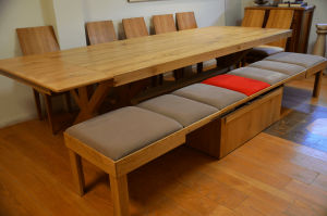 large square dining table seats 12