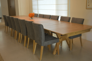 big square dining table